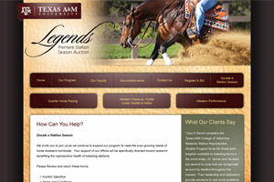Legends Premier Stallion Season Auction